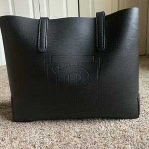 Black Burberry Tote Brand New